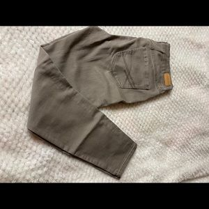 Aeropostale khaki skinny jeans